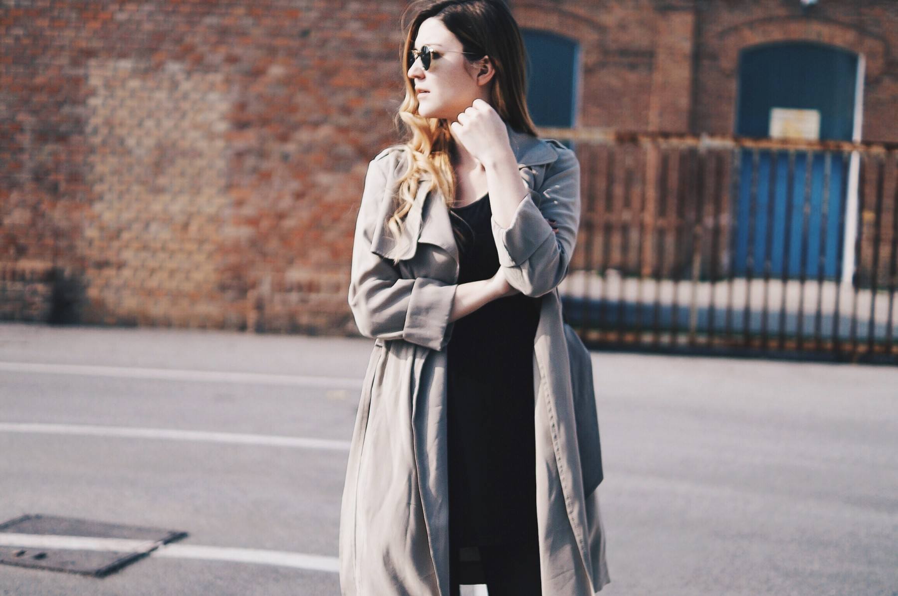 flowing trench coat 5