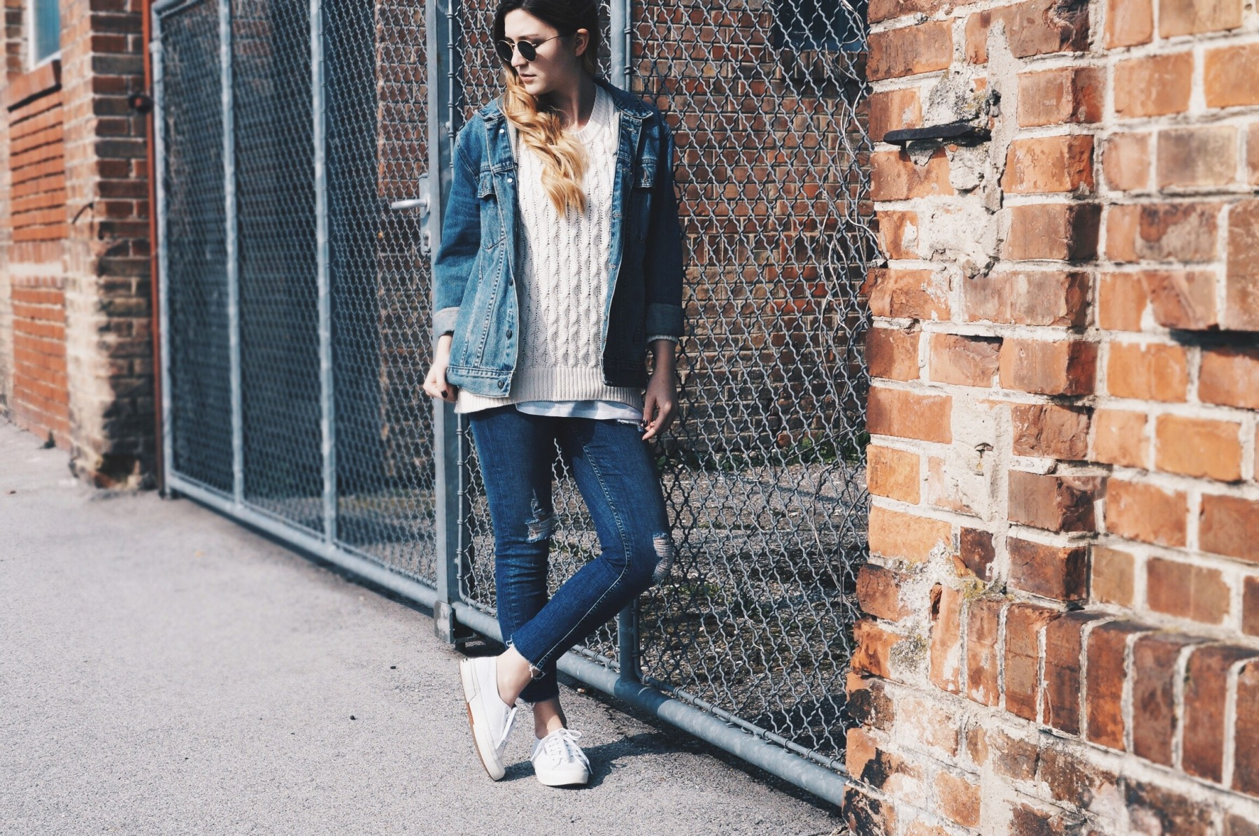 denim on denim look 1