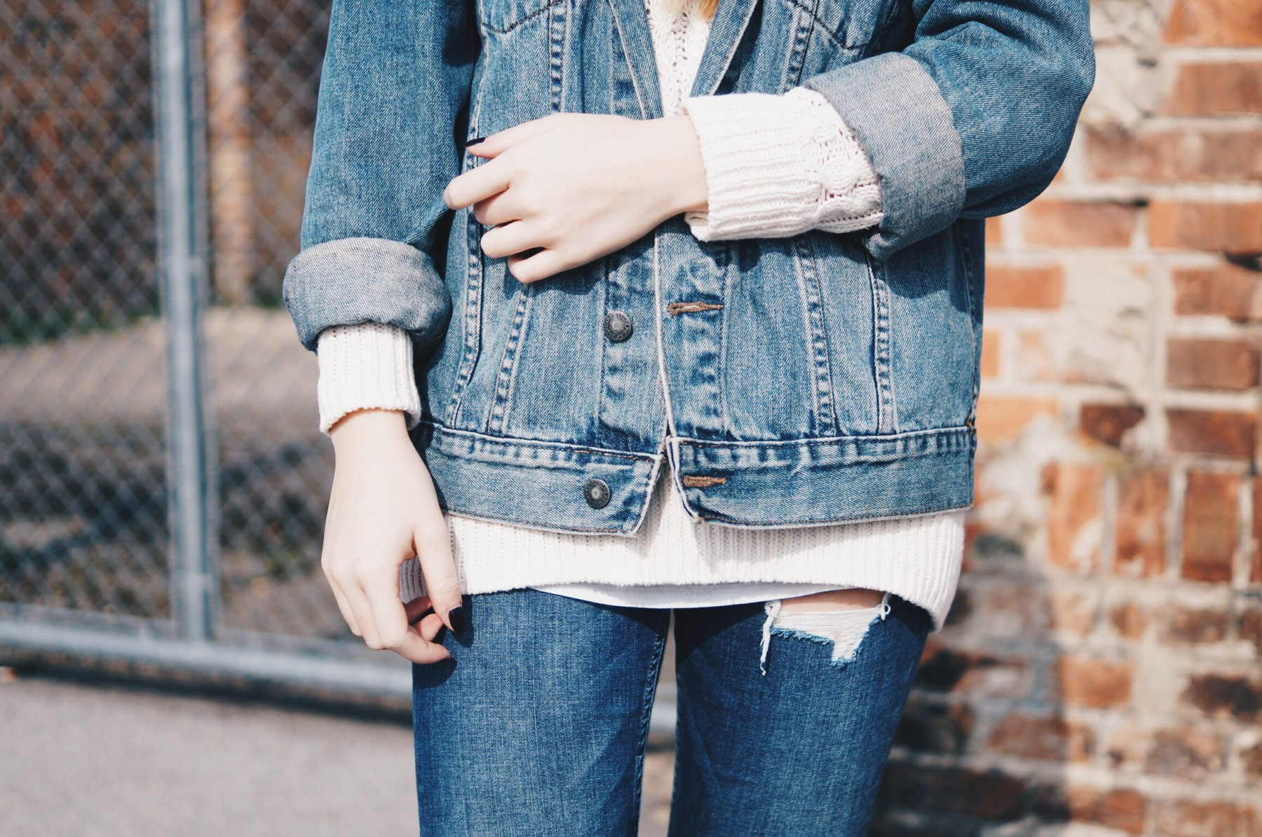 denim on denim look 7