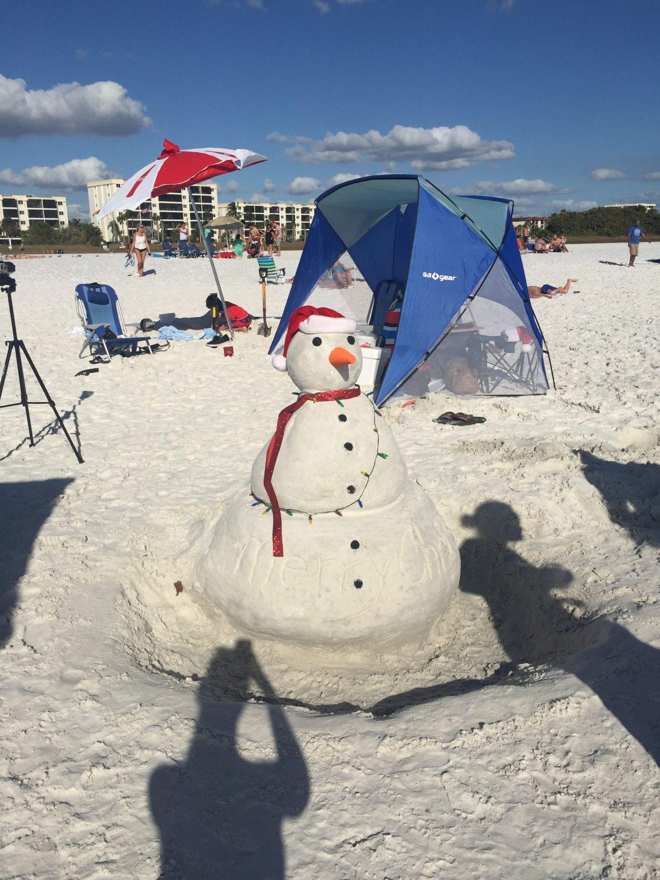 florida_snowman_sandman_beach