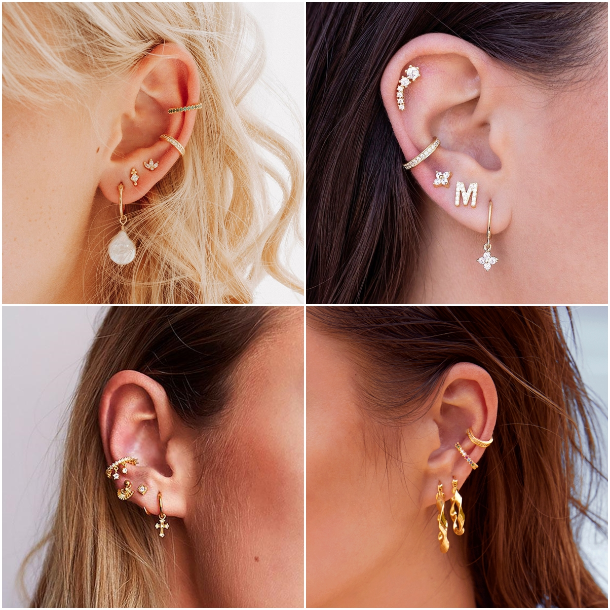 Trend Report: Ohrringe und Ear Cuffs